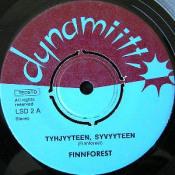 Tyhjyyteen, Syvyyteen by FINNFOREST album cover