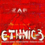 Ethnic 3 Live by ZAO album cover