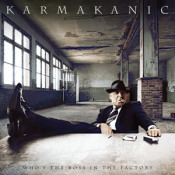 Who's The Boss In The Factory? by KARMAKANIC album cover