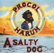 A Salty Dog by PROCOL HARUM album cover