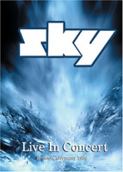 Live In Concert: Bremen, Germany 1980 (DVD) by SKY album cover