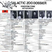 Galactic Zoo Dossier  by BROWN'S KINGDOM COME, ARTHUR album cover