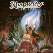Triumph Or Agony by RHAPSODY (OF FIRE) album cover