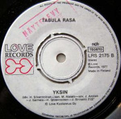 Rakastatko vielä kun on ilta by TABULA RASA album cover