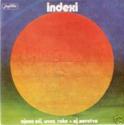 Njene oci, usne, ruke by INDEXI album cover