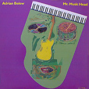 Mr. Music Head by BELEW, ADRIAN album cover