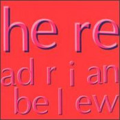 Here by BELEW, ADRIAN album cover