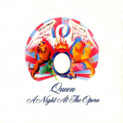 A Night At The Opera by QUEEN album cover