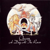 A Day At The Races by QUEEN album cover