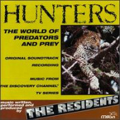 Hunters by RESIDENTS, THE album cover
