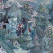 The Atomized Dream by CANVAS SOLARIS album cover