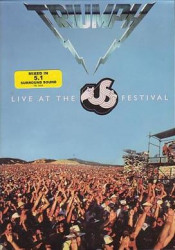 Live At The US Festival by TRIUMPH album cover