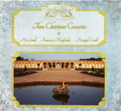 Three Christmas Concertos by LINDH PROJECT, PÄR album cover