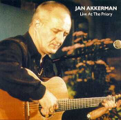 Live At The Priory by AKKERMAN, JAN album cover