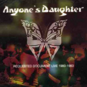 Requested Document Live 1980 - 1983 by ANYONE'S DAUGHTER album cover