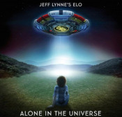 Jeff Lynne's ELO: Alone In The Universe by ELECTRIC LIGHT ORCHESTRA album cover