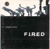 Fired by X-LEGGED SALLY album cover