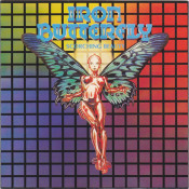 Scorching Beauty by IRON BUTTERFLY album cover
