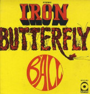 Ball by IRON BUTTERFLY album cover