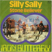 Silly Sally by IRON BUTTERFLY album cover