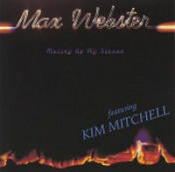 Mutiny Up My Sleeve  by MAX WEBSTER album cover