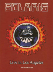 Live In Los Angeles 1995 (Official bootleg) by SOLARIS album cover