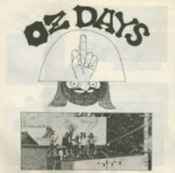 OZ Days by TAJ-MAHAL TRAVELLERS album cover