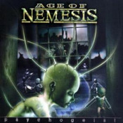 Psychogeist by AGE OF NEMESIS album cover