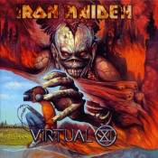 Virtual XI by IRON MAIDEN album cover
