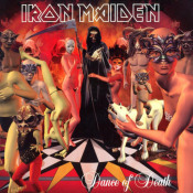 Dance Of Death by IRON MAIDEN album cover