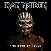The Book Of Souls by IRON MAIDEN album cover