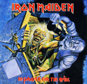 No Prayer For The Dying by IRON MAIDEN album cover