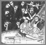 Of the Body Prone by AHLEUCHATISTAS album cover