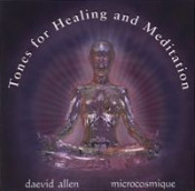 Five Semitones: Tones for Healing and Meditation  by ALLEN MICROCOSMIC, DAEVID album cover
