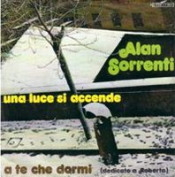 Una Luce Si Accende by SORRENTI, ALAN album cover