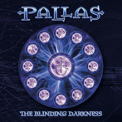 The Blinding Darkness by PALLAS album cover