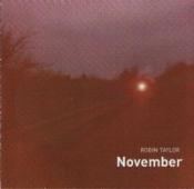 November by TAYLOR, ROBIN album cover
