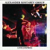 Live@InProg 2003 by KOSTAREV GROUP album cover