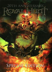 20th Anniversary - Special Edition (3CD+DVD) by ROYAL HUNT album cover