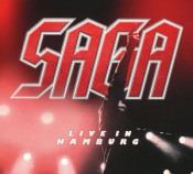 Live in Hamburg by SAGA album cover