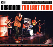 The Last Train by BRAINBOX album cover