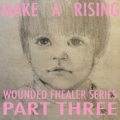 Wounded Fhealer Series Part Three by MAKE A RISING album cover