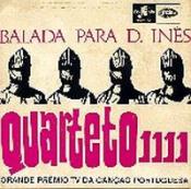 Balada para D. Inês by QUARTETO 1111 album cover
