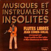 Musiques et Instruments Insolites: Flute Libres  by COHEN-SOLAL , JEAN album cover