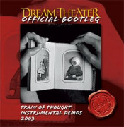 Train of Thought Instrumental Demos 2003 by DREAM THEATER album cover