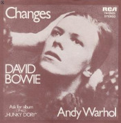 Changes / Andy Warhol by BOWIE, DAVID album cover