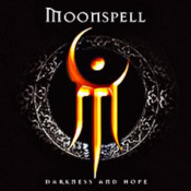 Darkness and Hope by MOONSPELL album cover
