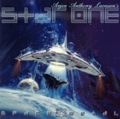Space Metal by STAR ONE album cover