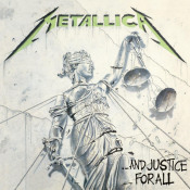 ...And Justice For All by METALLICA album cover
