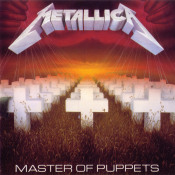 Master Of Puppets by METALLICA album cover